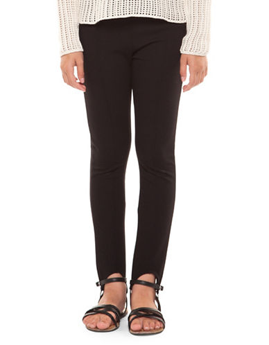 Dex Classic Stirrup Leggings-BLACK-Medium