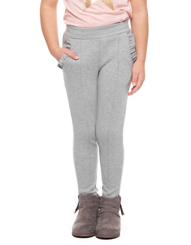 Dex Frill-Pocket Leggings-GREY-5