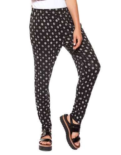 Dex Pull-On Printed Pants-BLACK-Small 90011566_BLACK_Small