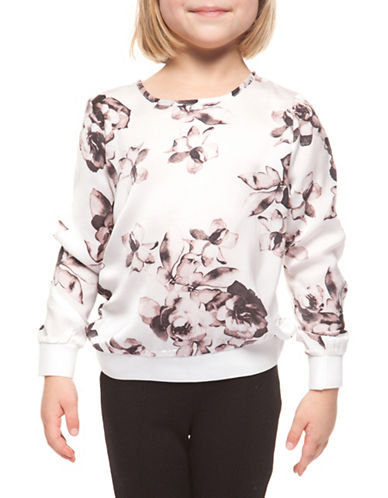 Dex Long-Sleeve Printed Top-PINK ROSES-4