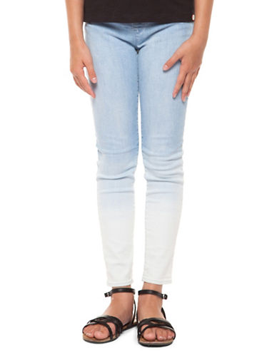 Dex Dip-Dyed Leggings-BLUE-Medium