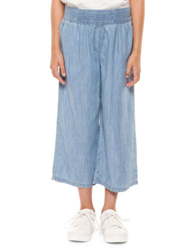 Dex Pull-On Wide-Leg Pants-BLUE-Medium 89882684_BLUE_Medium