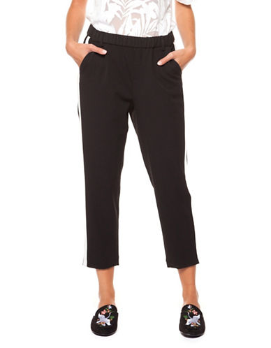 Dex Pull-On Capri Pants-BLACK-Large