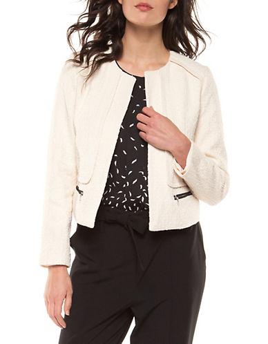Dex Cropped Cotton Jacket-NATURAL-Medium 89942762_NATURAL_Medium