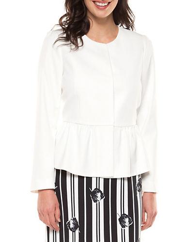 Dex Peplum Hem Jacket-WHITE-Large 90098030_WHITE_Large