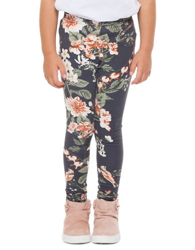 Dex Striped Stretch Leggings-CAMO FLORAL-6