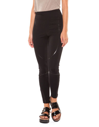 Dex Wide Waistband Leggings-BLACK-Small