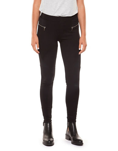 Dex Slim-Fit Zip Pants-BLACK-Medium 89801686_BLACK_Medium