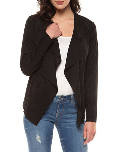 Dex Long-Sleeve Waterfall Jacket-BLACK-X-Large 90004593_BLACK_X-Large