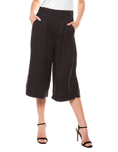 Dex Pull-On Wide-Leg Pants-BLACK-Large 90043291_BLACK_Large