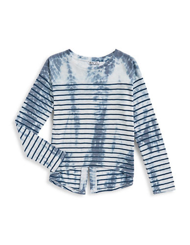 Dex Tie-Dye Stripe Top-BLUE/GREY-12