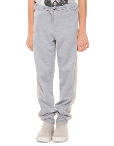 Dex Pull-On Dressy Joggers-GREY-Small