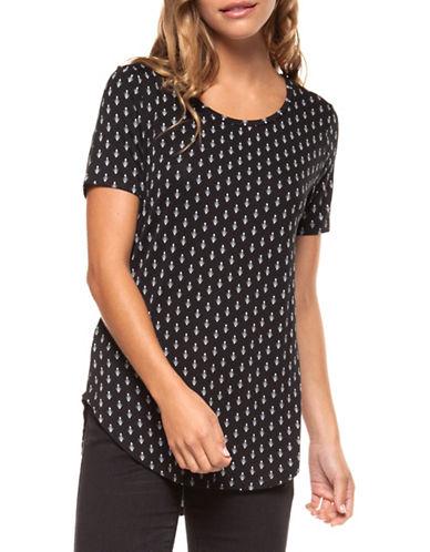 Dex Printed Short Sleeve Tee-BLACK-Medium 89910760_BLACK_Medium