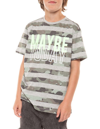 Dex Maybe Today Cotton Tee-CAMO-Small