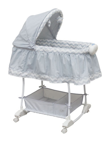 Bily Rocking Bassinet-GREY-One Size