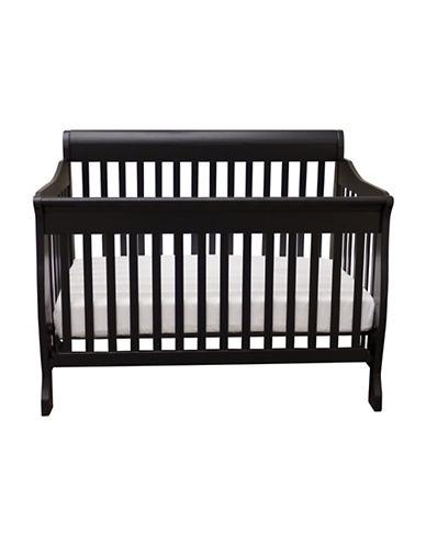 Bily M1 Sleigh Crib-BLACK-One Size