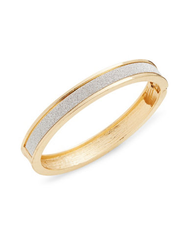 Expression Glitter Paper Bangle Bracelet-SILVER-One Size