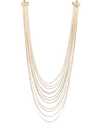 Expression 13-Row Necklace-GOLD-One Size