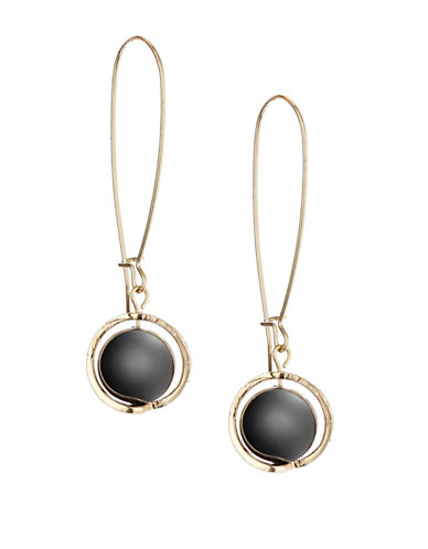 Expression Orbital Threader Earrings-GREY-One Size