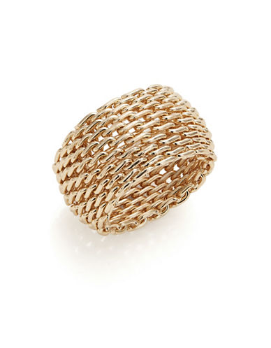 Expression Mesh Link Ring-GOLD-7