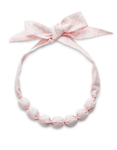 Expression Bandana Beads Choker-PINK-One Size