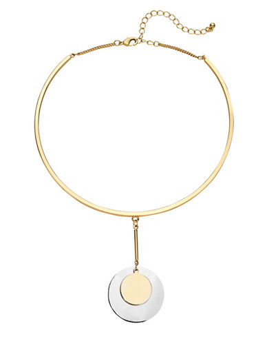 Expression Drop Disc Neck Wire-TWO TONE-One Size