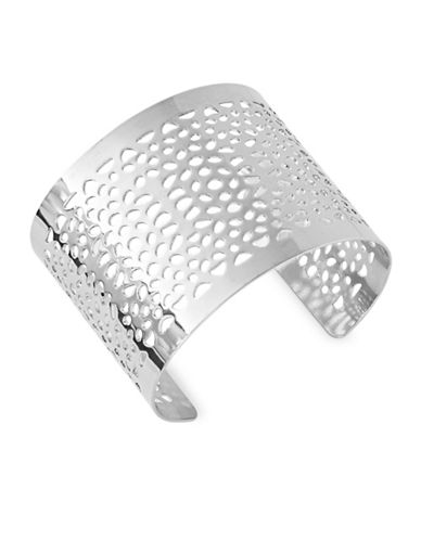 Expression Filigree Open Cuff-SILVER-One Size
