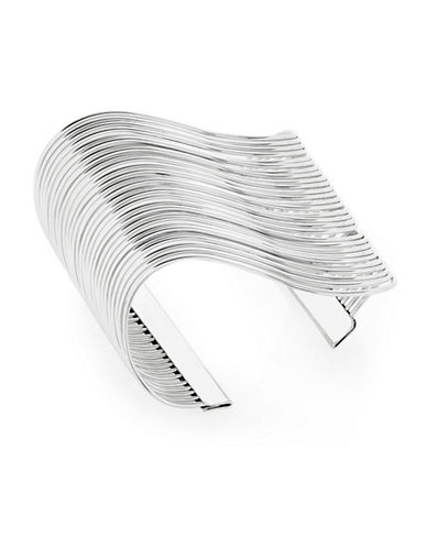 Expression Wave Open Cuff-SILVER-One Size