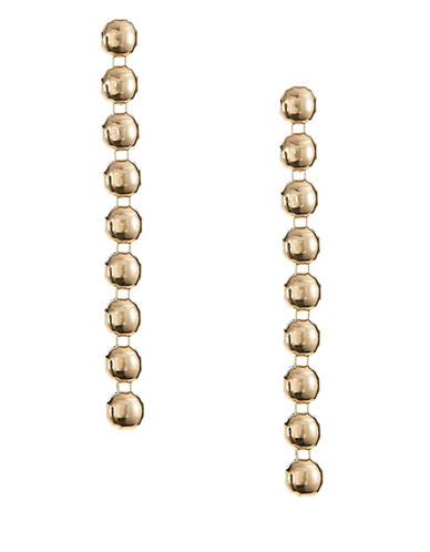 Expression Linear Earrings-GOLD-One Size