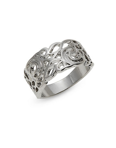 Expression Openwork Ring-SILVER-8