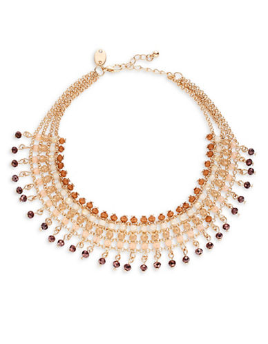 Expression Rondelle Choker Necklace-GOLD-One Size
