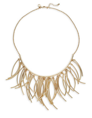 Expression Statement Bar Necklace-GOLD-One Size