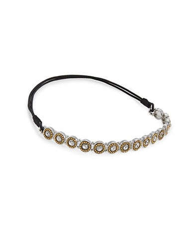 Expression Embellished Disc Headband-TWO TONE-One Size