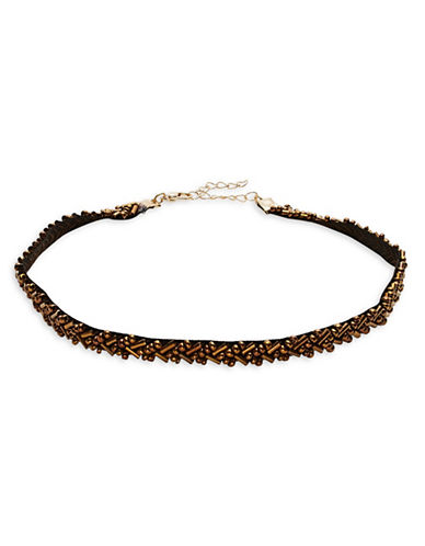 Expression Three-Piece Beaded Choker Set-ASSORTED-One Size