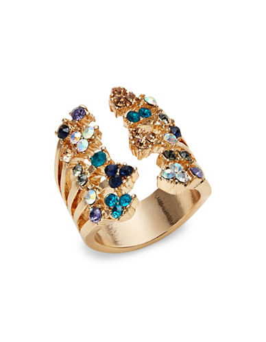 Expression Stone Split Ring-BLUE-7
