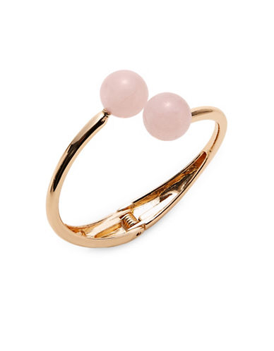 Expression Ball Bypass Hinge Bracelet-PINK-One Size