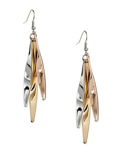 Expression Wavy Drop Earrings-ASSORTED-One Size