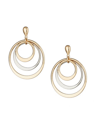Expression Triple Hoop Earrings-ASSORTED-One Size