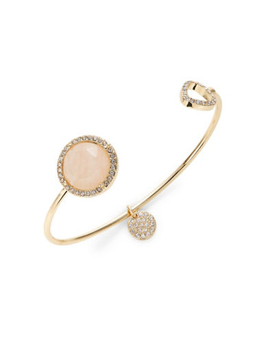 Expression Stones Open Cuff-PINK-One Size