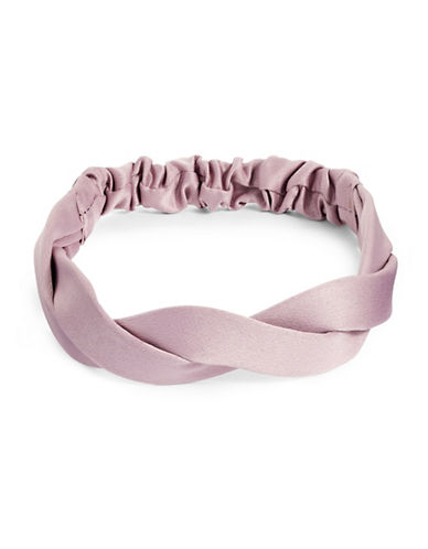 Expression Satin Headband-PINK-One Size