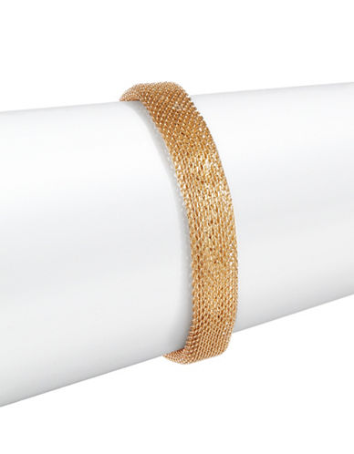 Expression Mesh Bracelet-GOLD-One Size