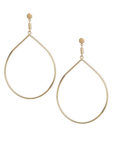 Design Lab Lord & Taylor Goldtone Teardrop Earrings-GOLD-One Size
