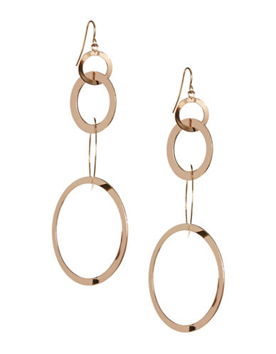 Expression Multi-size O Drop Earrings-GOLD-One Size