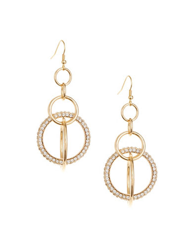 Expression Multi-Hoop Earrings-GOLD-One Size