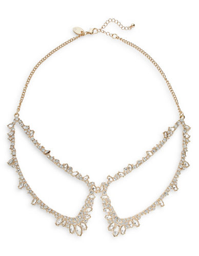 Expression Crystal Navette Peter Pan Necklace-GOLD-One Size