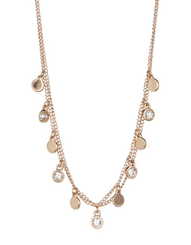 Expression Double Chain Choker-GOLD-One Size