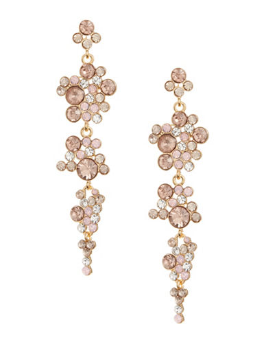 Expression Stone Cluster Section Drop Earrings 89574906