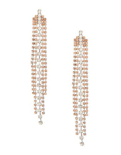 Expression Two-Tone Chandelier Earrings-TWO TONE-One Size