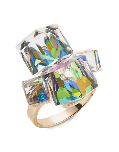 Expression Square Solitaire Ring-MULTI-9