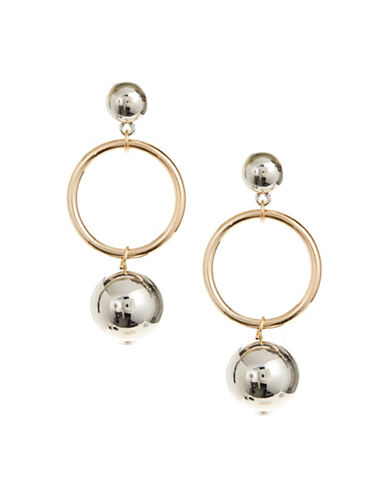 Expression Orb Ring Drop Earrings-ASSORTED-One Size